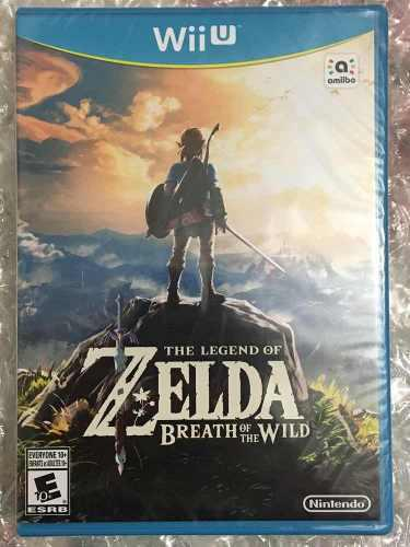 Nuevo. Wiiu. The Legend Of Zelda Breath Of The Wild