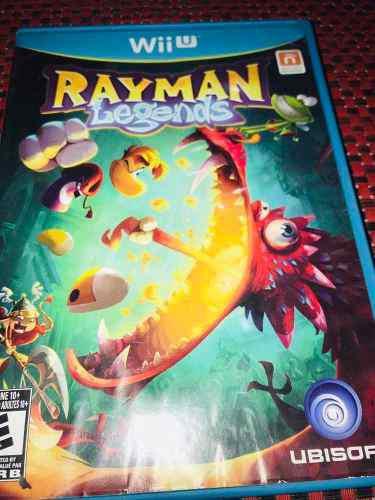 Rayman Legends Para Wii U Usado En Excelentes Condiciones
