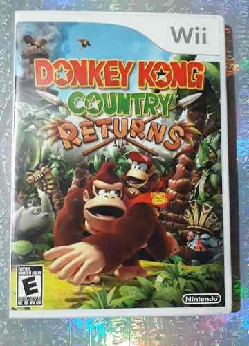 Seminuevo Donkey Kong Country Returns Wii O Wii U Usado