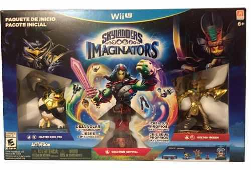 Skylanders Imaginators Paquete De Inicio Starter Pack Wii U
