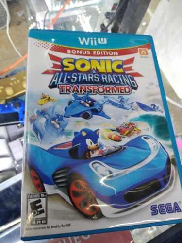 Sonic All Stars Racing Nintendo Wii U. Garantizado