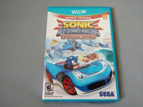 Sonic And All Stars Racing Transformed Para Nintendo Wii U