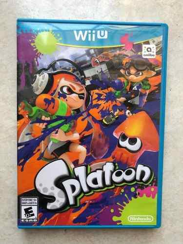 Splatoon Wii U Como Nuevo Original