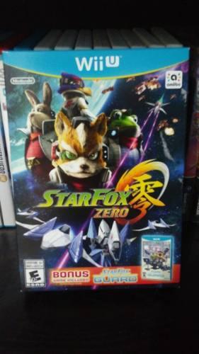 Star Fox Zero + Star Fox Guard Para Wii, Nuevo