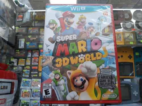Super Mario 3d World Para Wii U Nuevo Sellado