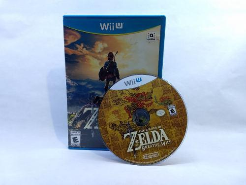 The Legend Of Zelda Breath Of The Wild Wiiu Gamers Code**