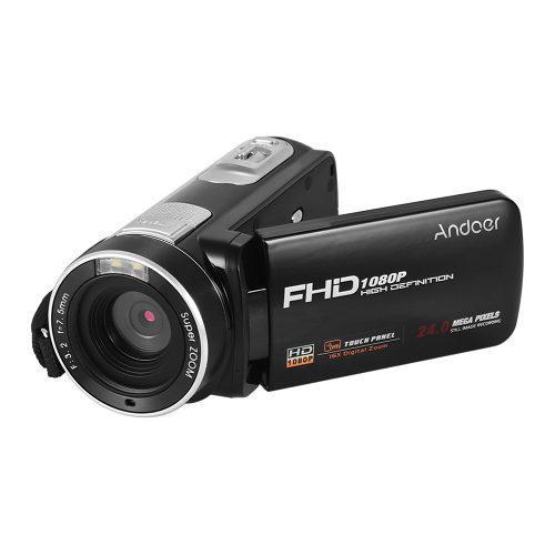 Andoer Videocámara Y Cámara Digital Rca Full Hd 1080p