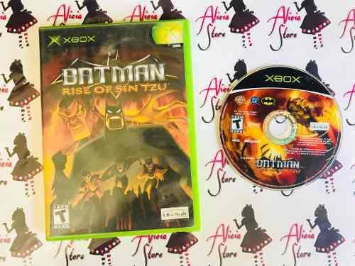 Batman Rise Of Sin Tzu Para Xbox Clasico