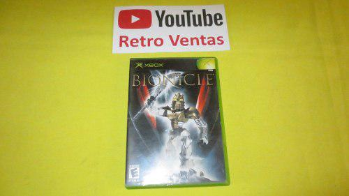 Bionicle Xbox Clasico Compatible Con Xbox 360 *1 Player