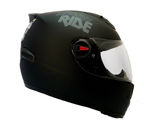 Casco Integral Shiro Sh-821 Skull Negro Mate Dot Y Ece