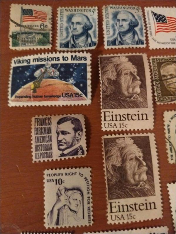 Colección de timbres postales