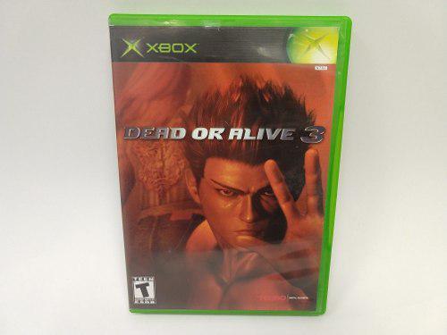 Dead Or Alive 3 Xbox Clasico Como Nuevo Juegazo De Coleccion