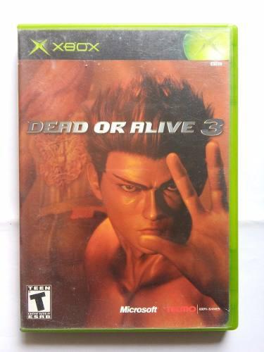 Dead Or Alive 3 Xbox Doa3 Trqs