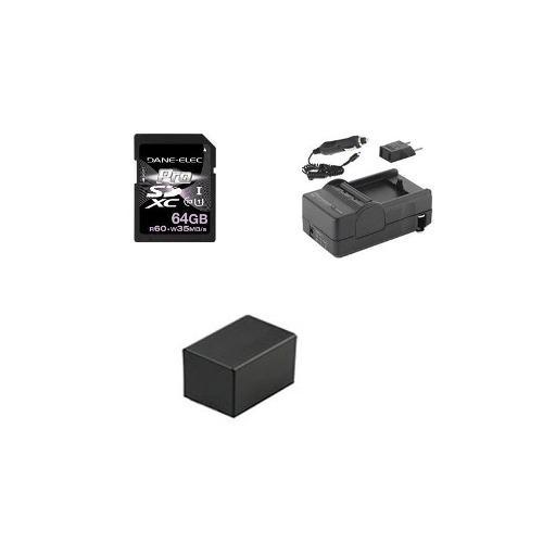 El Kit De Accesorios De La Videocámara Canon Vixia Hf R42