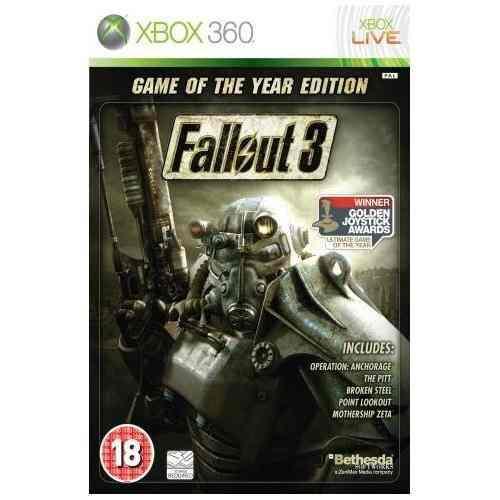 Fallout 3: Edición Del Juego Del Año - Clásico (Xbox 360)