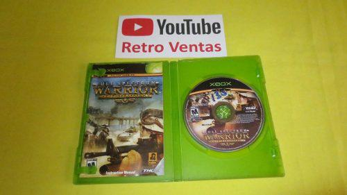 Full Spectrum Warrior Xbox Clasico Compatible Con Xbox One