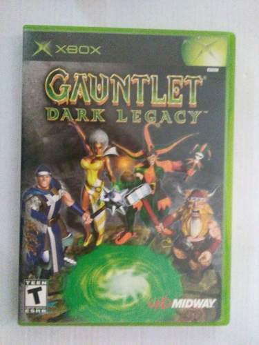 Gauntlet Dark Legacy Xbox Original Clasico Midway