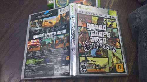 Grand Theft Auto San Andres Xbox