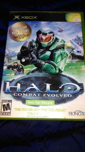 Halo 1 Xbox Clasico Compatible Xbox 360 Not For Resale