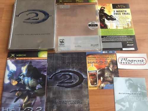 Halo 2 Edición Limitada Metal Xbox Como Nvo Español