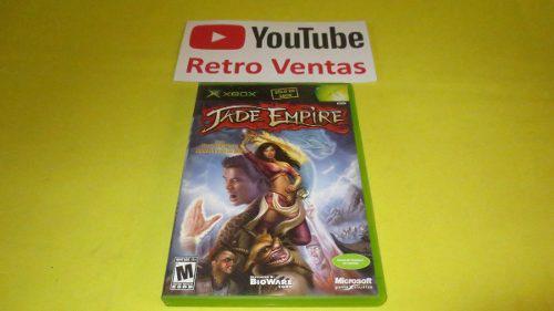 Jade Empire Xbox Clasico Compatible Con Xbox 360 Y Xbox One