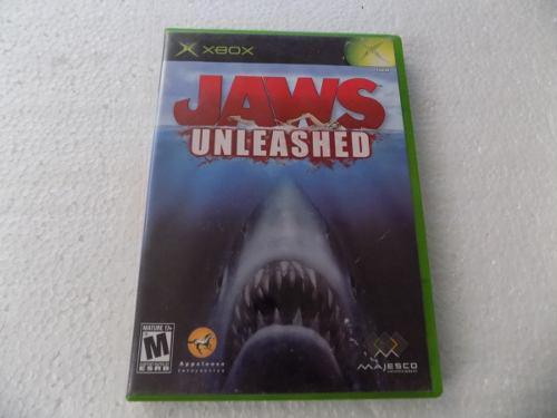 Jaws Unleashed Tiburon Xbox Original Clasico Trqs