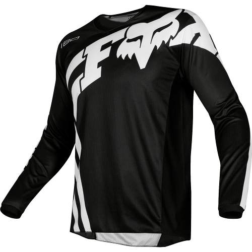 Jersey Fox 180 Cota Negro Motocross Mtb Downhill Rzr Atv