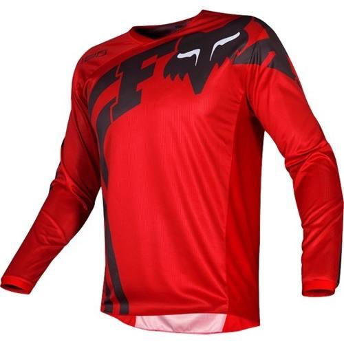 Jersey Fox 180 Cota Rojo  Motocross Mtb Downhill Rzr Atv