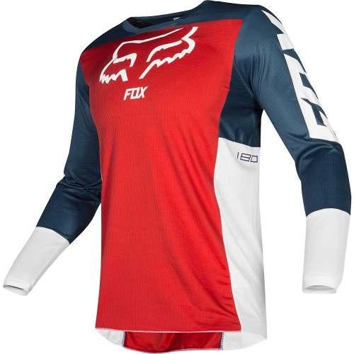 Jersey Fox 180 Przm Rojo  Motocross Mtb Downhill Rzr Atv