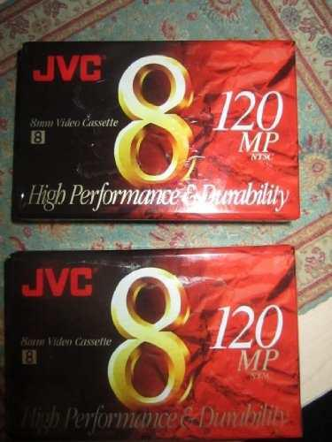 Jvc 120-minute Estándar 8mm Videocámara Cintas (paquete De