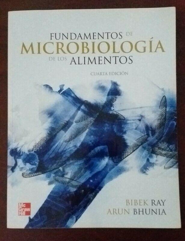 """LIBRO """"FUNDAMENTOS DE MICROBIOLOGÍA DE LOS ALIMENTOS"""". 4a"""
