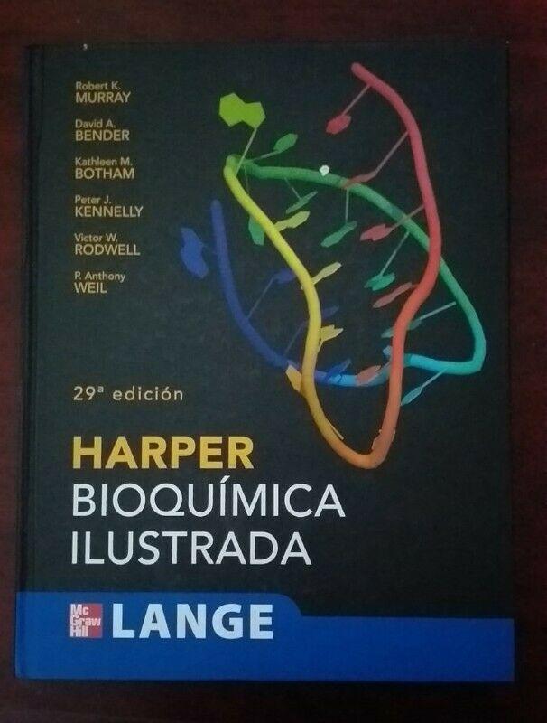 "LIBRO ""HARPER BIOQUÍMICA ILUSTRADA"""