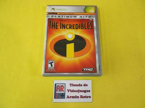 Los Increibles Xbox Clasico *compatible Con Xbox 360*