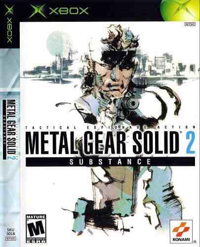 Metal Gear Solid 2 Substance, Xbox Clásico, Usado.