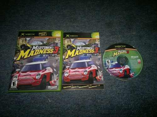 Midtown Madness 3 Sin Inst Para Xbox Normal,excelente Titulo