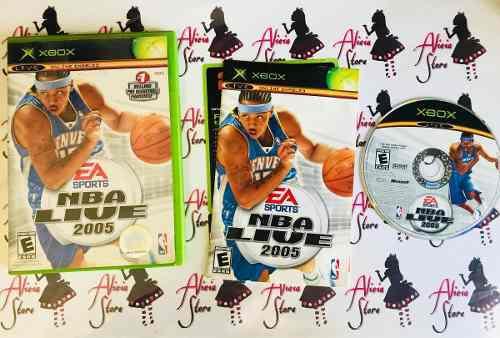 Nba Live 2005 Para Xbox Clasico