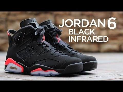 Nuevos! Tenis Air Jordan Retro 6 Infrared