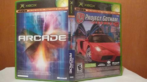 Pgr Project Gotham Racing 2 / Arcade Xbox Compatib 360 Od.st