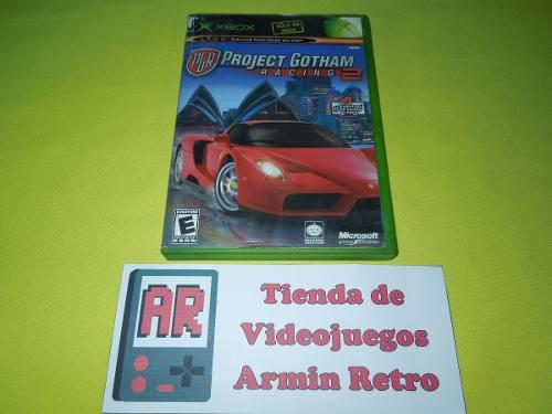 Pgr Project Gotham Racing 2 Xbox Clasico *1-4 Jugadores*
