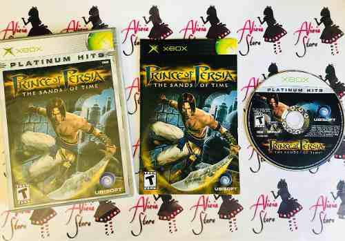 Prince Of Persia The Sands Of Time Platinumpara Xbox Clasico