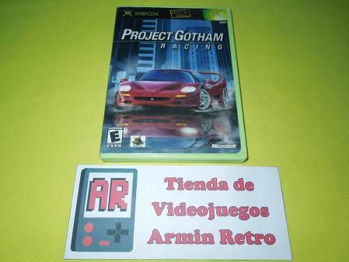 Project Gotham Racing Xbox Clasico *1-4 Jugadores*
