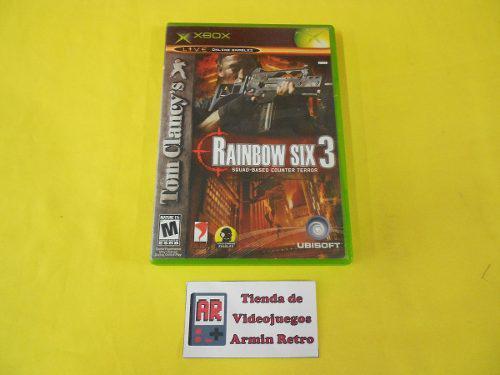 Rainbow Six 3 Xbox Clasico *1-16 Jugadores*