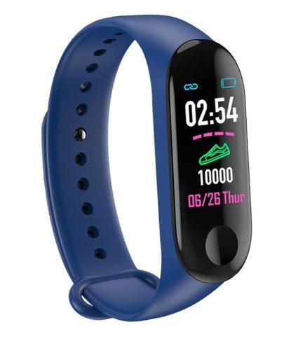 Smart Band Watch M3 Plus Pulsera Inteligente Deportiva Ip67