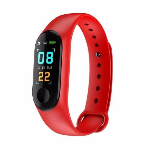 Smart Band Watch M3 Plus Pulsera Inteligente Deportiva Ip67