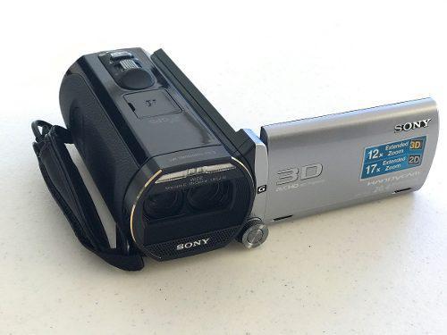 Sony Handycam Hdr-td20v Full Hd 3d 64gb Videocámara 2 Bate