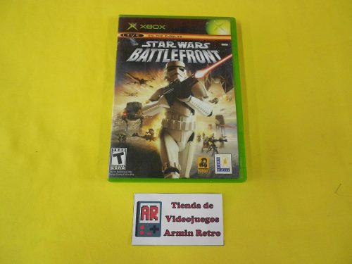 Star Wars Battlefront Xbox Clasico Compatible Xbox 360 Y One