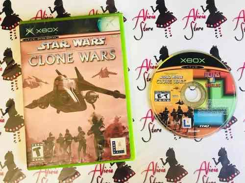 Star Wars Clone Wars + Tetris Para Xbox Clasico