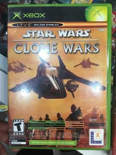 Star Wars Clone Wars Tetris Xbox Clasico