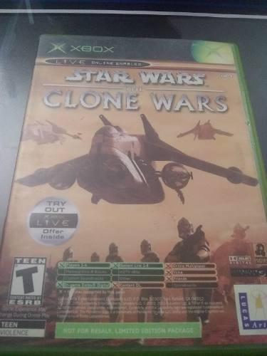 Star Wars Clone Wars / Tetris Xbox Clasico Edicion Limitada