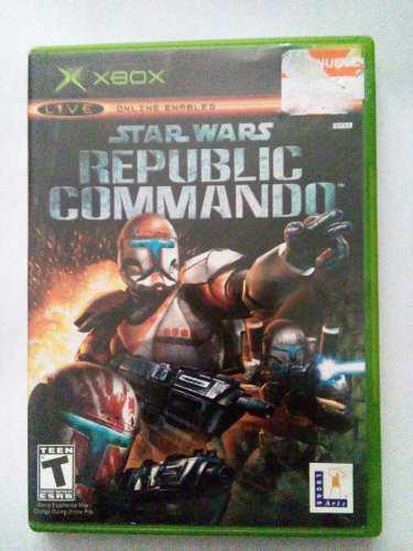 Star Wars Republic Commando Xbox Clasico Original Sw Trqs